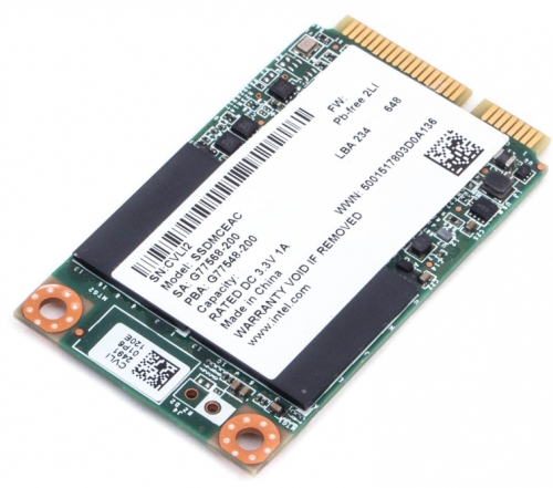 Intel® SSD 525 30GB m-SATA MLC series